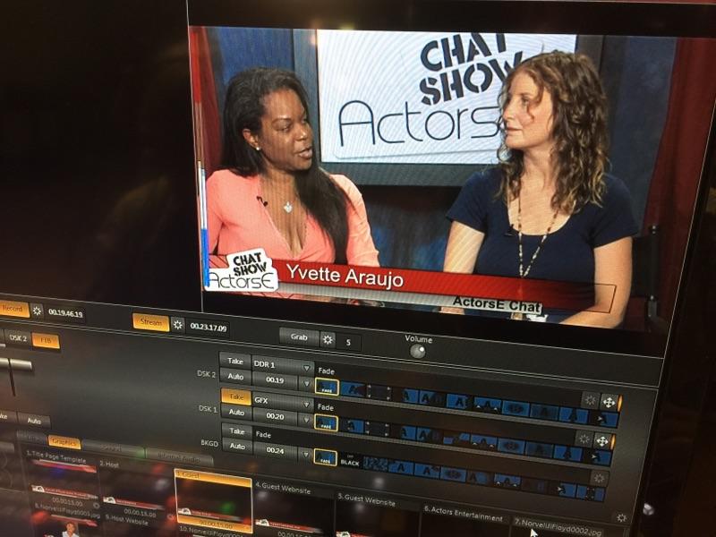 Actors Chat Show! Editing room!